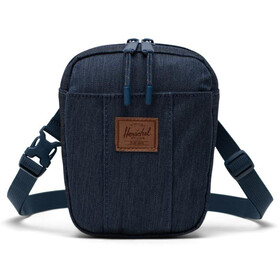 Herschel Cruz Crossbody Bag indigo denim crosshatch